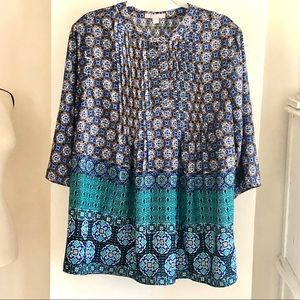 NWOT Woman Within Loose Tunic Top. Size 14/16